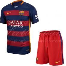 Детская форма  домашняя  Barcelona сезон 2015/16