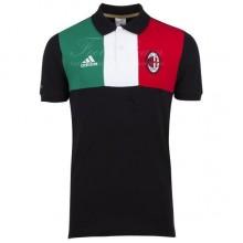 Поло AC Milan черная