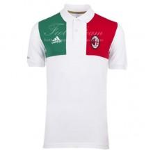 Поло AC Milan белая