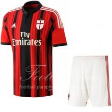 Форма игровая домашняя 2014/15 AC Milan